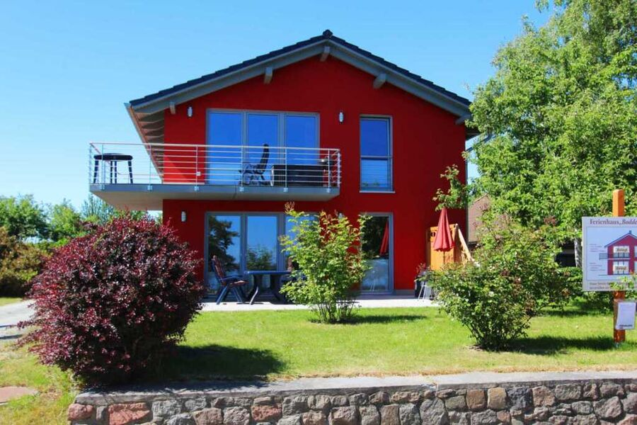 Das Ferienhaus Boddenblick in Neuendorf