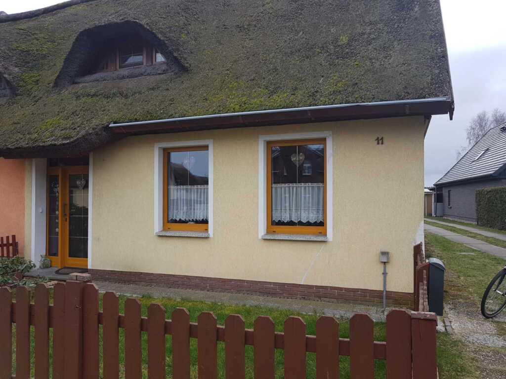 Reetdachferienhaus mit Kamin und WLAN, FH Hurek