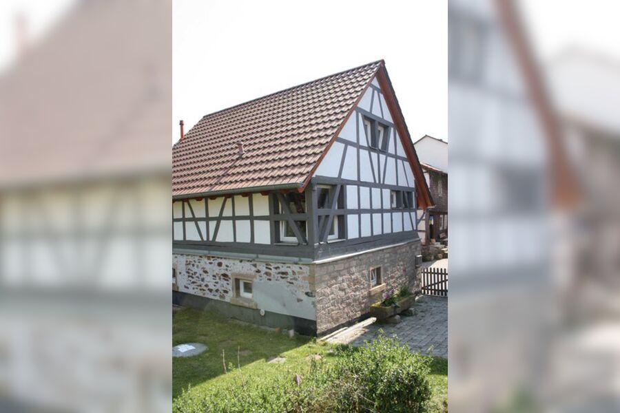 Ein echtes Odenwälder Fachwerkhaus
