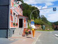 'Eishexe', Eiscafé und Übernachtung, Gartenblick in Oberharz am Brocken OT Tanne - kleines Detailbild