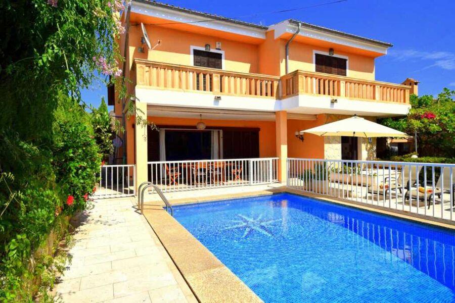 Villa Ca S'Hereu  Alte Fassade