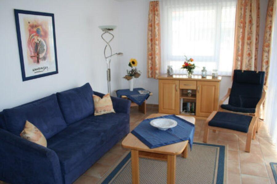 Wohnzimmer mit Relaxliege