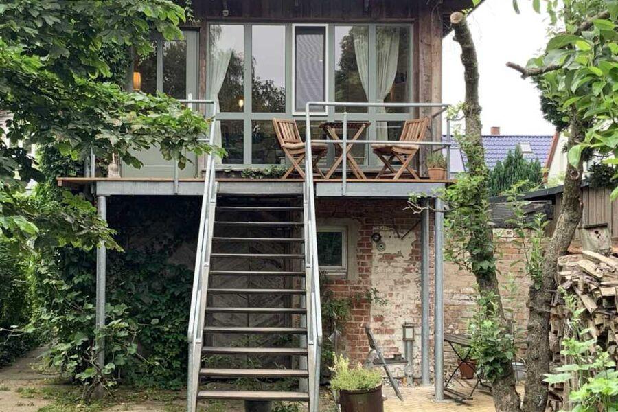 Ferienwohnung zur alten Böttcherei in Freest