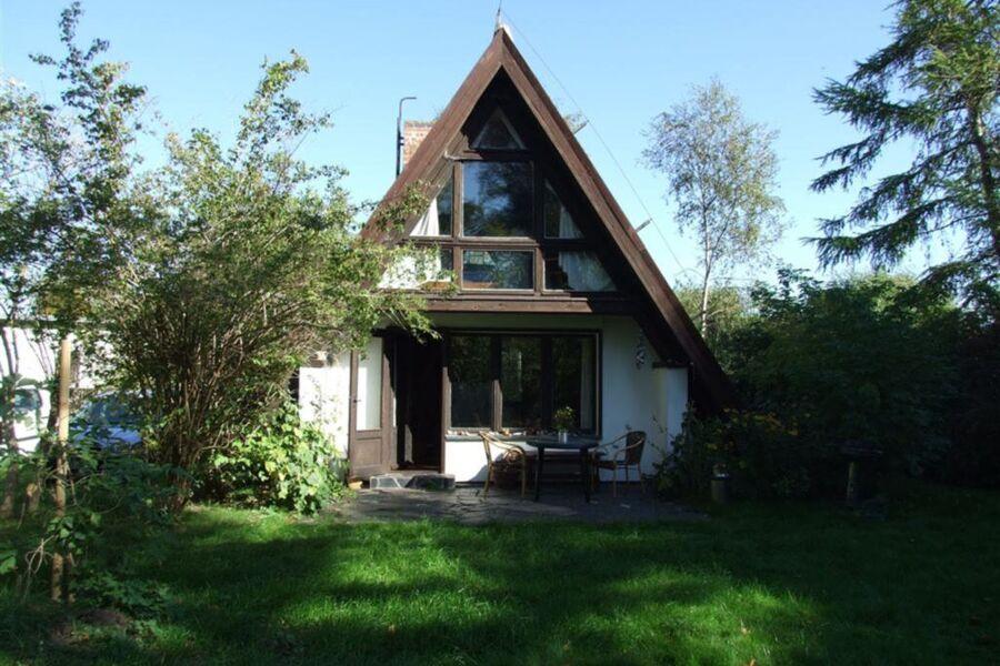 Romantische Finnhütte in der Heide, Finnhütte