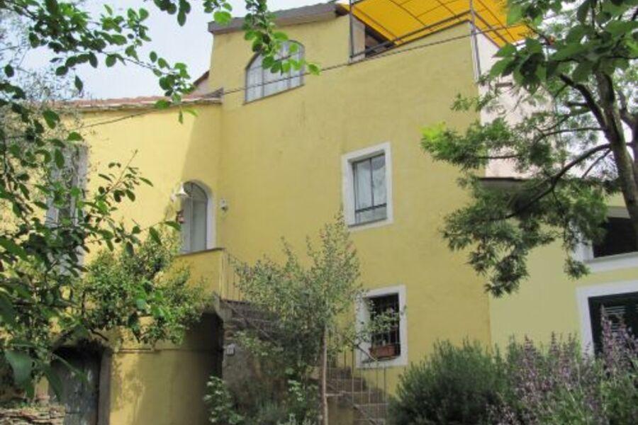 Eingang Limone mit Dachterrasse