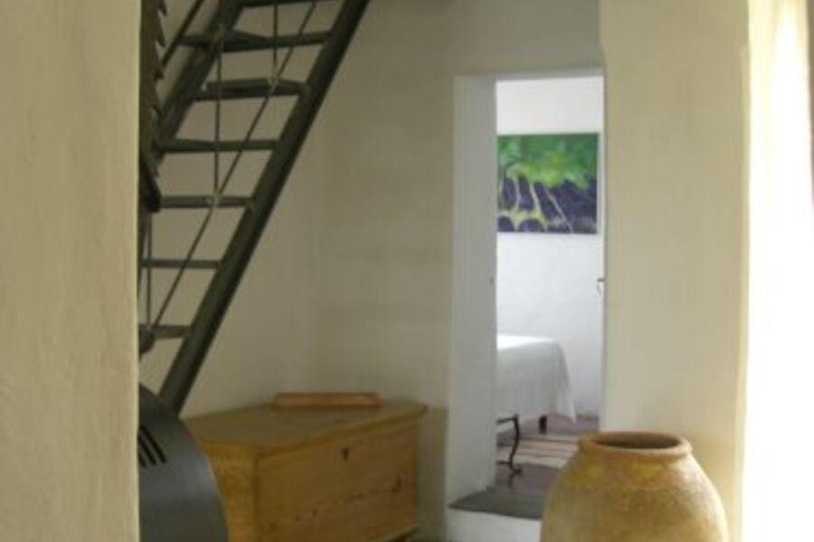 Schlafzimmer mit Blick auf`s Meer
