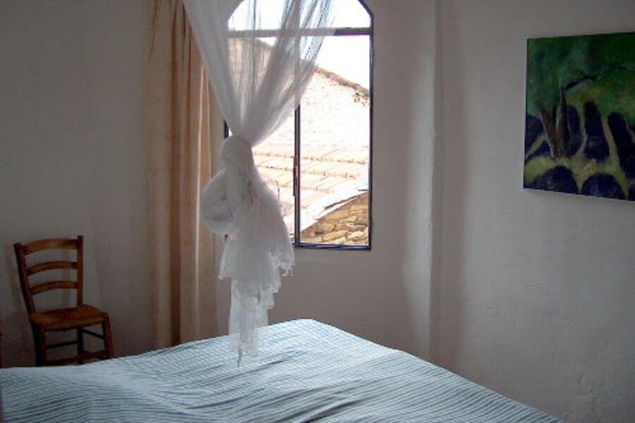 Sonnenaufgang im Schlafzimmer