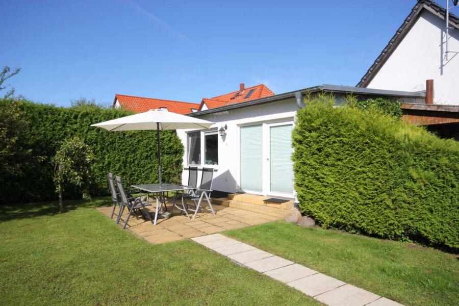 Ferienwohnung mit Terrasse im Kapitänshaus von 185