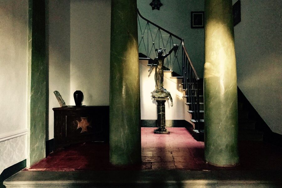 Eingang der Villa Humbourg