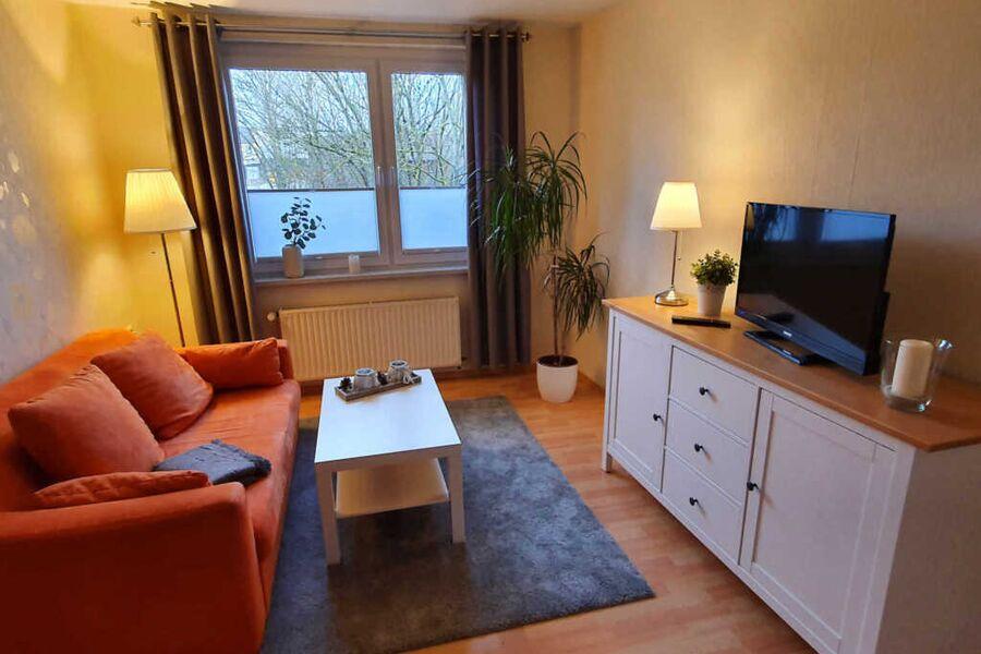 Wohnzimmer Ferienhaus Riemenschneider
