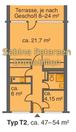 005 3-Raum-Fewo Ferienpark, 005 - Haus 80 - ptr