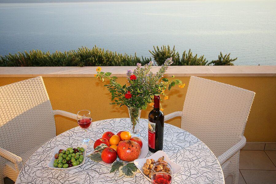 Villa Ruzmarina direkt am Meer