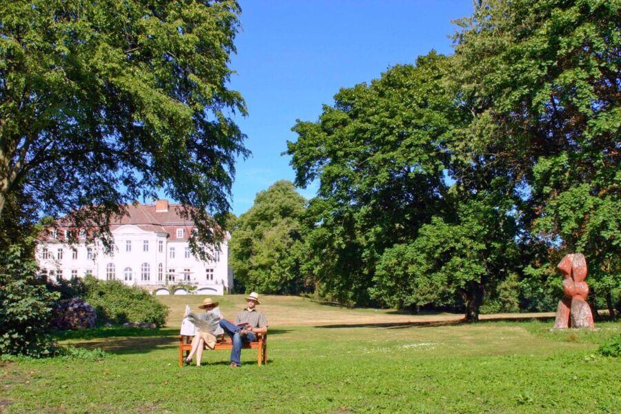 Schloss Zinzow, Fewo 1 (1-Raumfewo 35 m²)