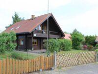 Holzblockhaus mit Kamin am Kite-, Surf- und Badestrand, Holzblockhaus in Loissin - kleines Detailbild