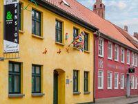 6. Pension Heinrich 'Im Herzen der Stadt', Zimmer Nr. 5  (für 1 oder 2 Pers)+1 Aufbettungsmöglichkei in Greifswald - kleines Detailbild