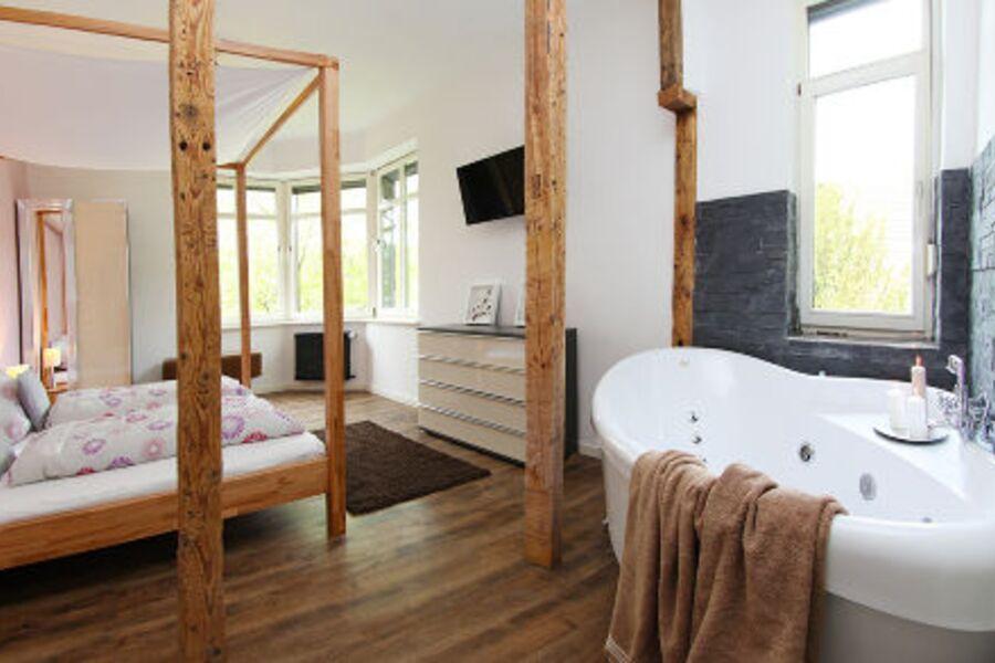 Romantik Zimmer mit Whirlpool