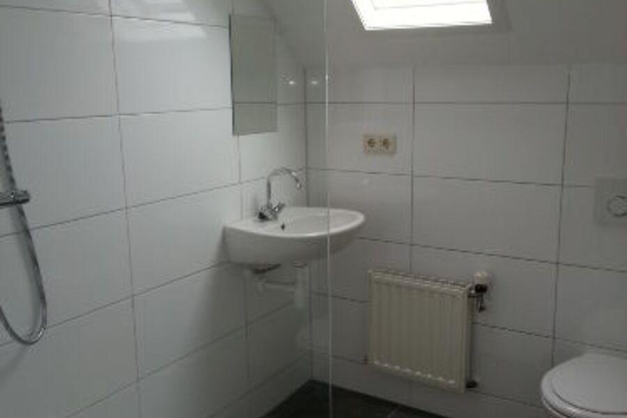 Badezimmer: Dusche + WC