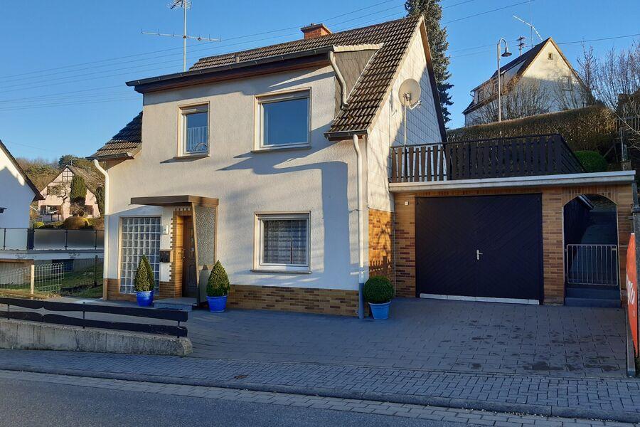Ferienhaus mit Eingang