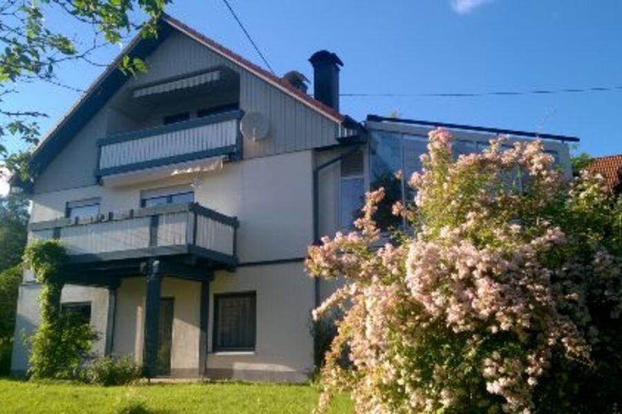 Südseite des Hauses