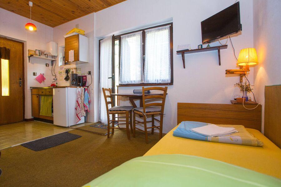 Wohn-/ Schlafzimmer Apartment 2