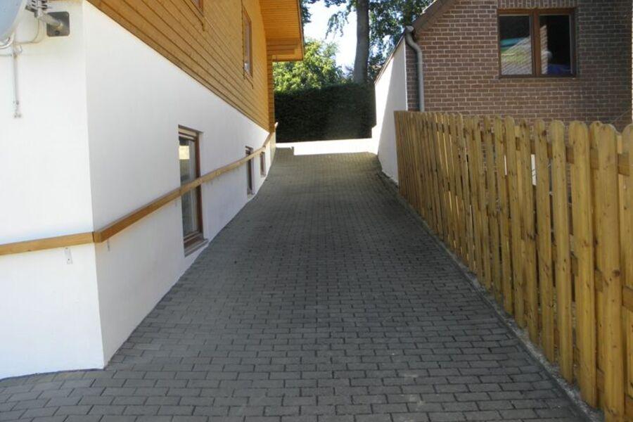 Sauna-Grillbereich