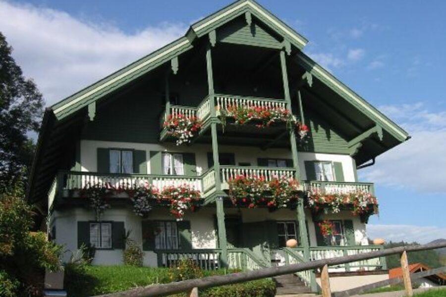 Forsthaus Kiendl, Altbau vorne