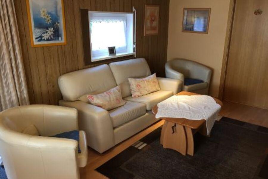 Wohnzimmer mit Klimaanlage