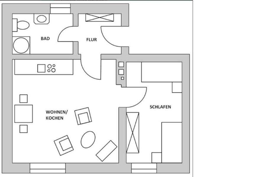 Appartements am Dorfkrug - Ferienwohnungen, Appart