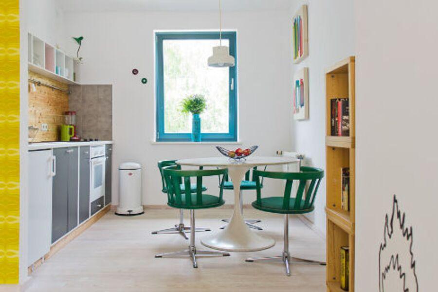 Einladender Ess- und Kochbereich