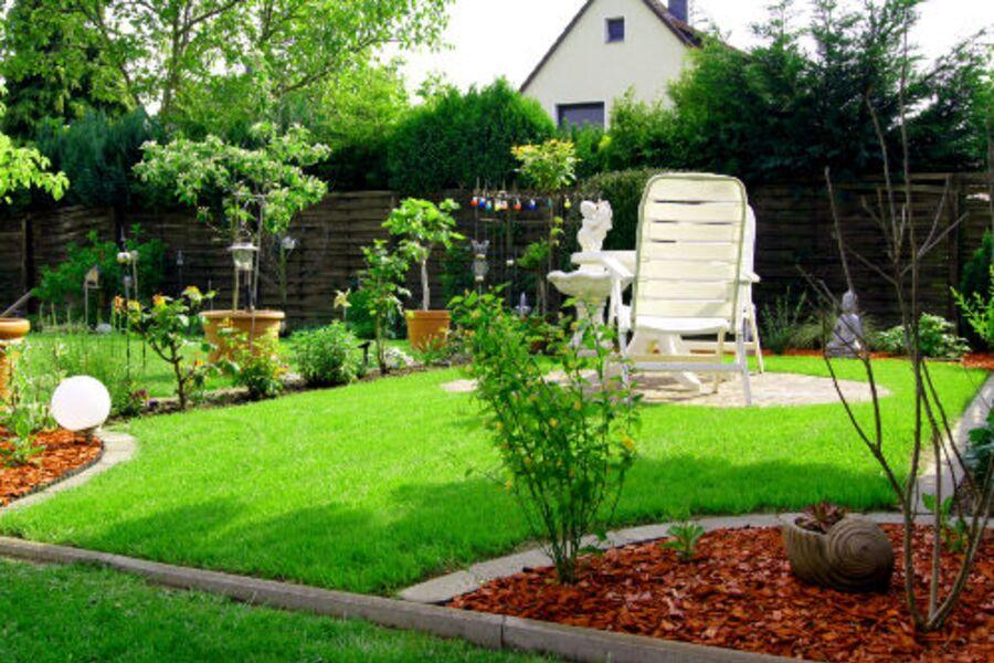 Der neue Gartenbereich