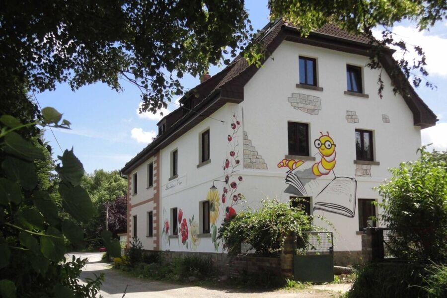 Auch von außen ein Hingucker: Das Ferienhaus Buchh