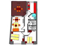 Apartmenthaus  'Im Herzen der Stadt' 1 bis 6 Gäste, Apartment 'Nr.01-Diethardt' für 1-6 Pers. (Lange in Greifswald - kleines Detailbild