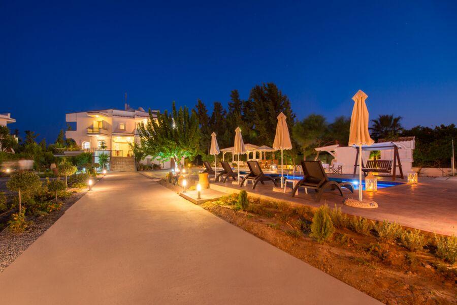 Sandstrand Faliraki  Villa mit Pool Dora, Villa Do