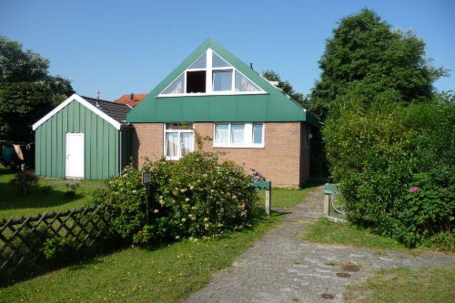 Außenansicht Ferienhaus Mövenweg 3
