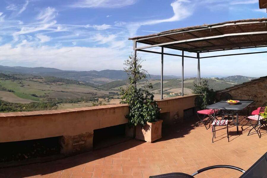 Dachterrasse mit 180° Panorama