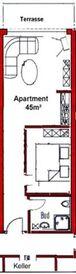 Appartementanlage Tecklenburger Altstadt, Appartem