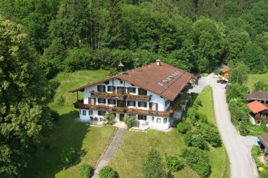 Luftbildaufnahme vom Haus