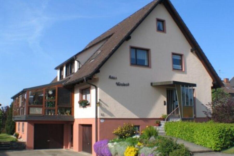 Haus Windeck-Nordansicht