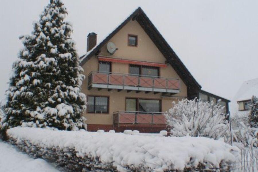 Haus Windeck im Winter