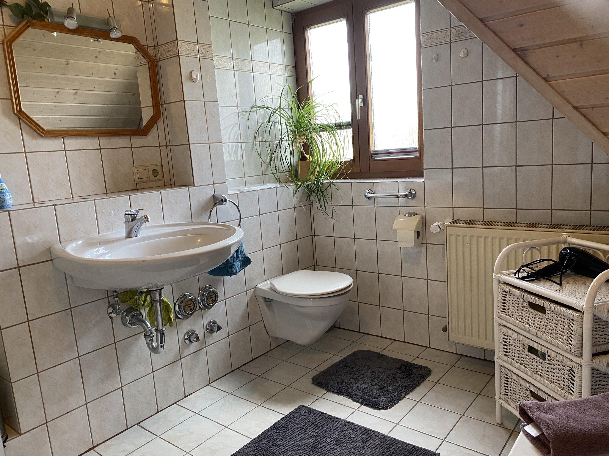 Zweites Schlafzimmer mit 3Betten