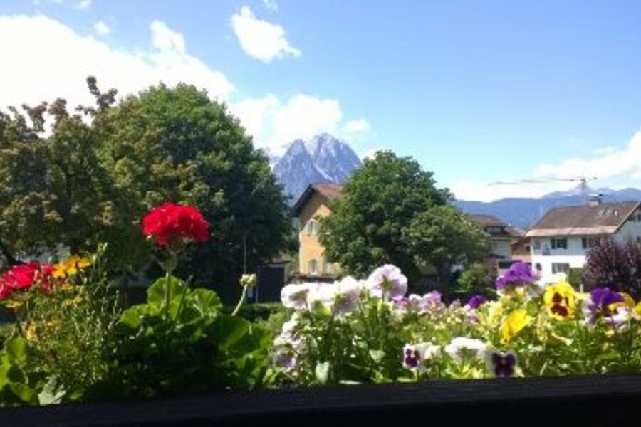 Die Aussicht von unserem Balkon