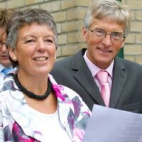 Vermieter: Ehepaar Feije und Anneke Sijbrandij.