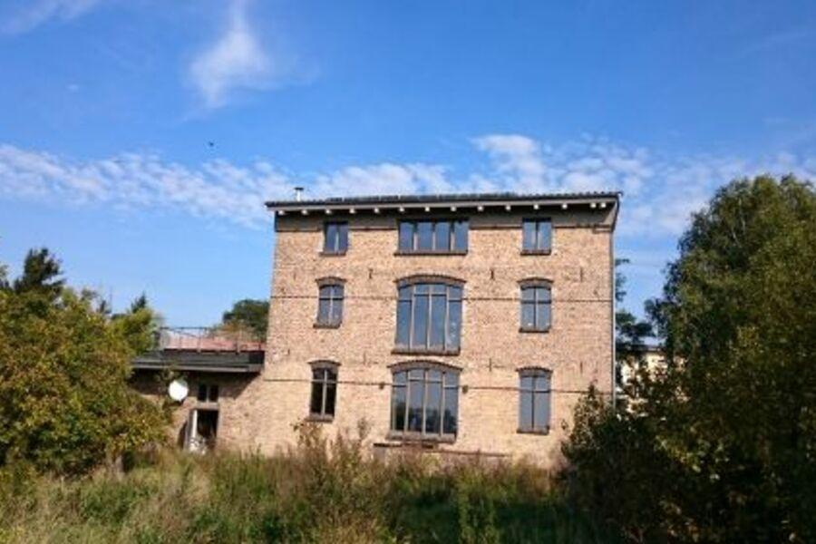 Süd-Westansicht der alten Mühle