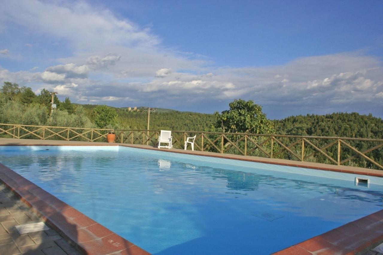 Pool in den Olivengärten