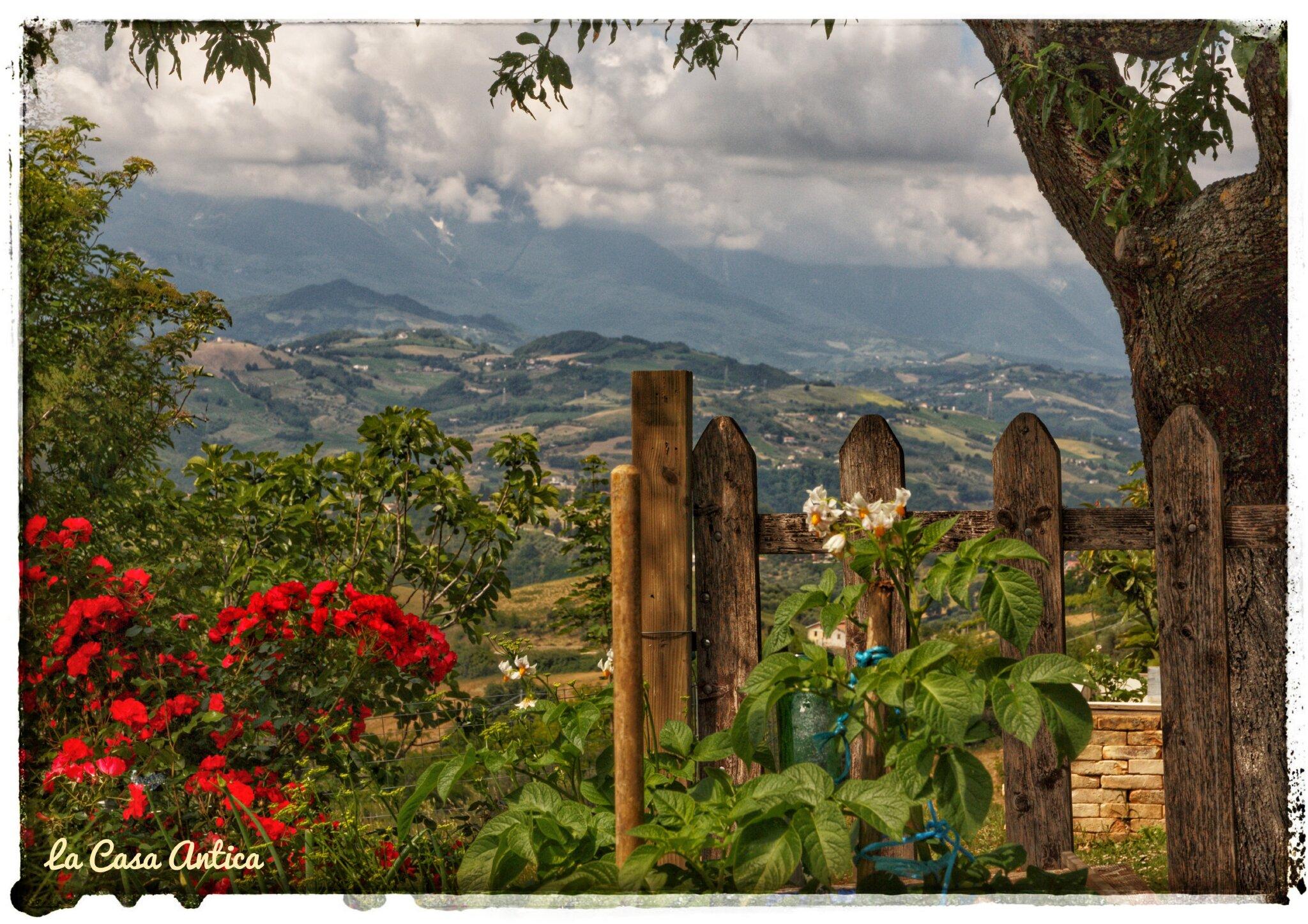 Panoramablick Berglandschaften
