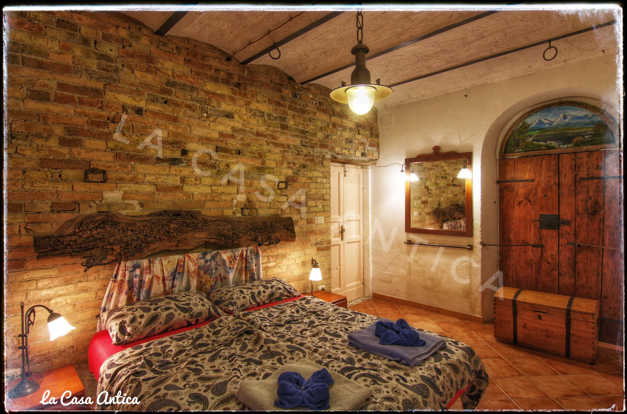 Schlafzimmer La Casa Antica