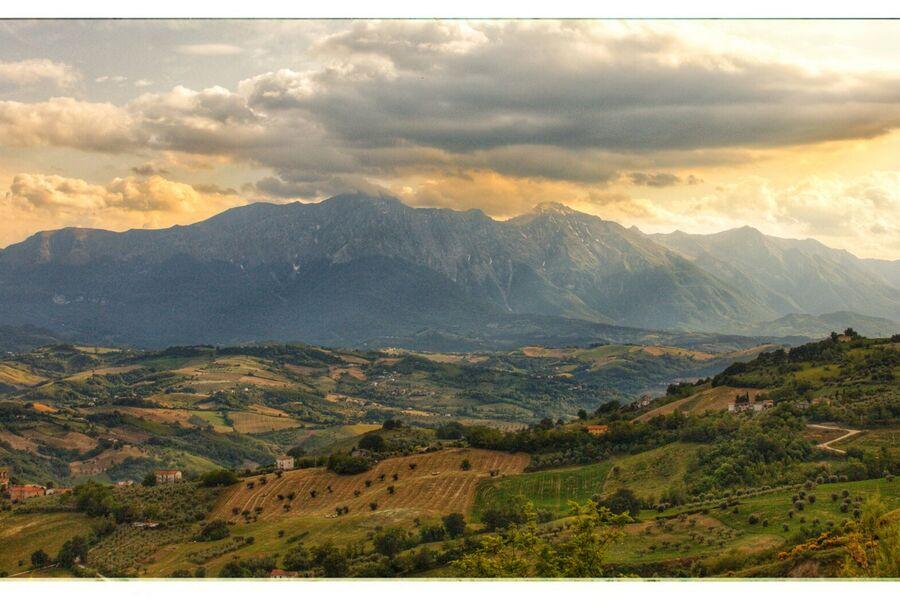 Corno Grande 2912 m hoch