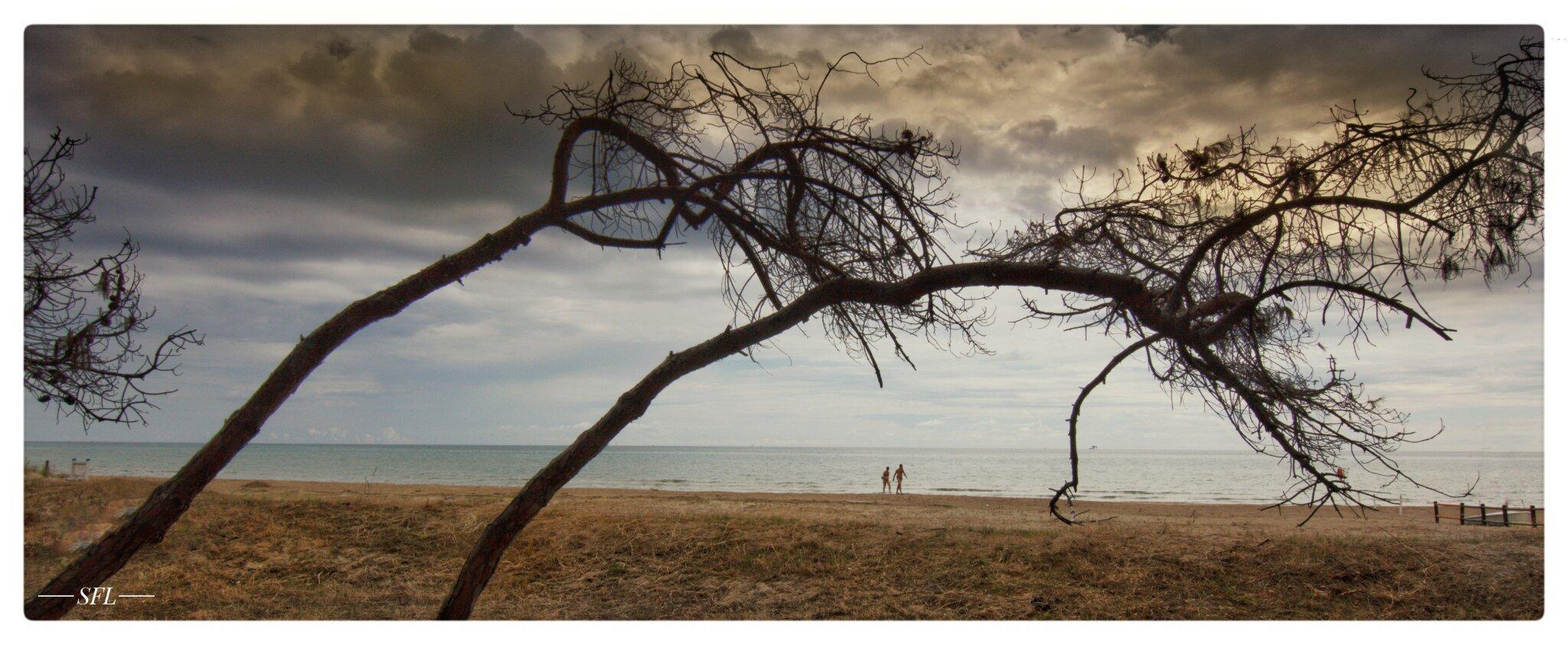Sandstrand von Siliv Marina