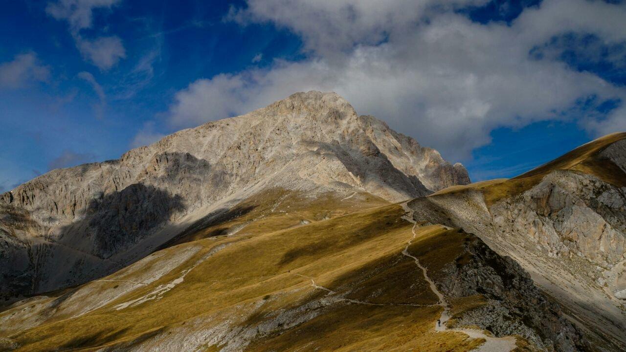 Corno Grande Sicht vom M. Brancastello