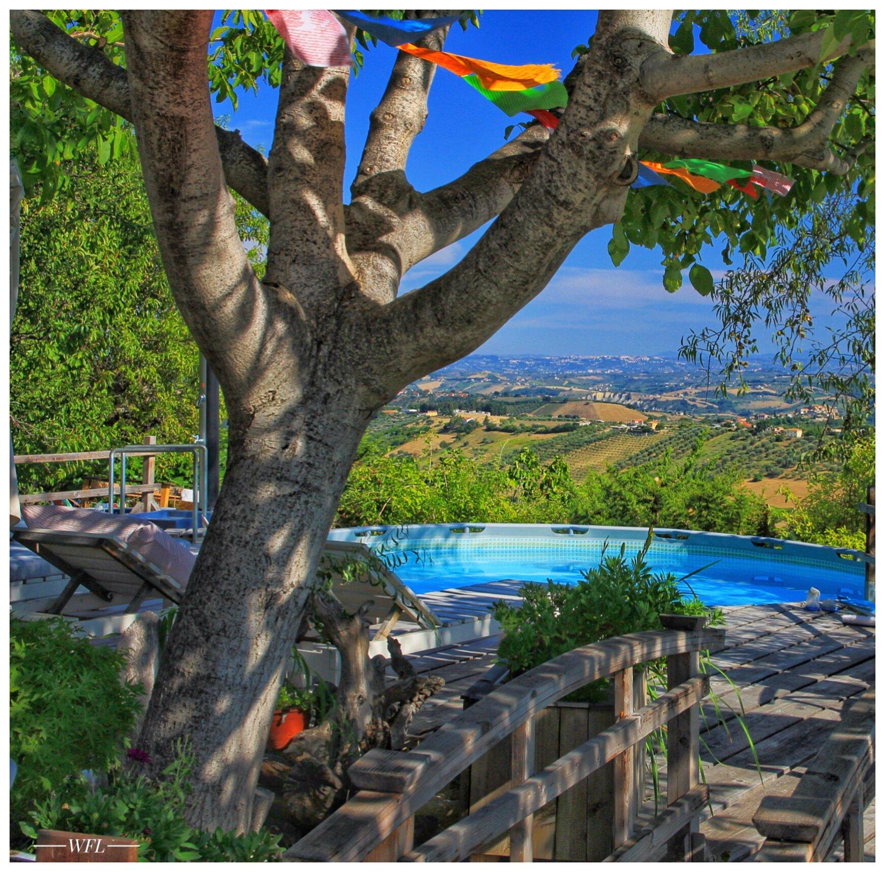 Poolbereich von La Casa Antica